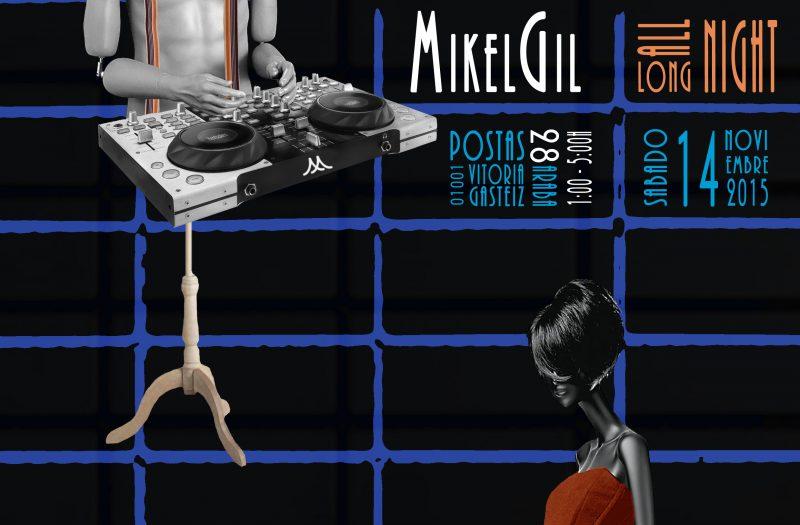 MIKEL GIL Cartel Clothes Soul 4 Azules Nov 2015